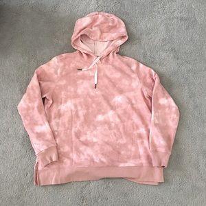 Old Navy Pink Tie Dye Hoodie